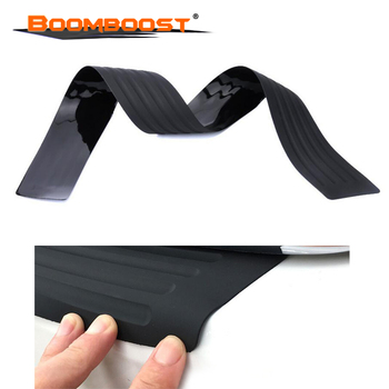 Car trunk bumper trim rear guard plate modified protective strip For Subaru Forester Outback Legacy Impreza XV BRZ Smart image