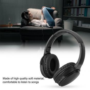 HK02 Portable Folding Stereo Bass Headphone Bluetooth 5.0 Head-mounted Wireless Music Headset Headphone