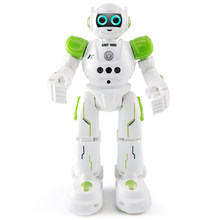JJRC R11 Cady Wike RC Robot Song Dance Light Gliding Toy For Children Intelligent Programming Gesture Sensing Remote Control Toy(China)