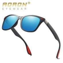 AORON Sunglasses Men Polarized 2019 Square Sport UV400 High Quality Retro Sun Glasses For Women Mirror Luxury Brand Designer цена и фото