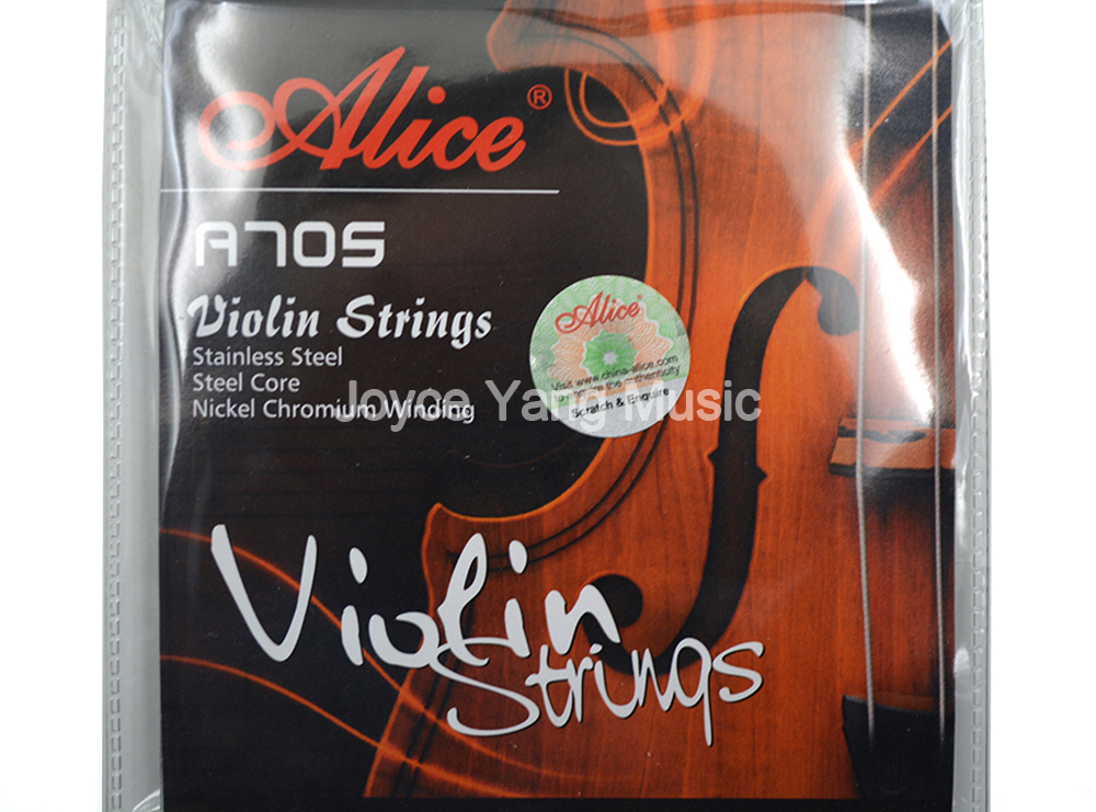 Alice A705 Violin Strings 4 Strings Stainless Steel Strings&Steel Core&Nickel Chromium Wound Strings Free Shipping