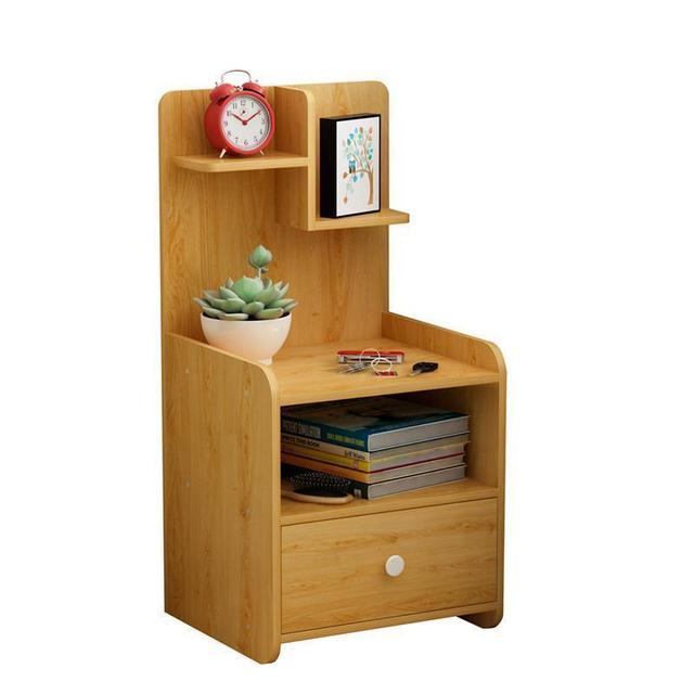 Meble Meuble Maison Komidin Mesa Auxiliar European Wood Bedroom Furniture Cabinet Quarto Mueble De Dormitorio Bedside Table