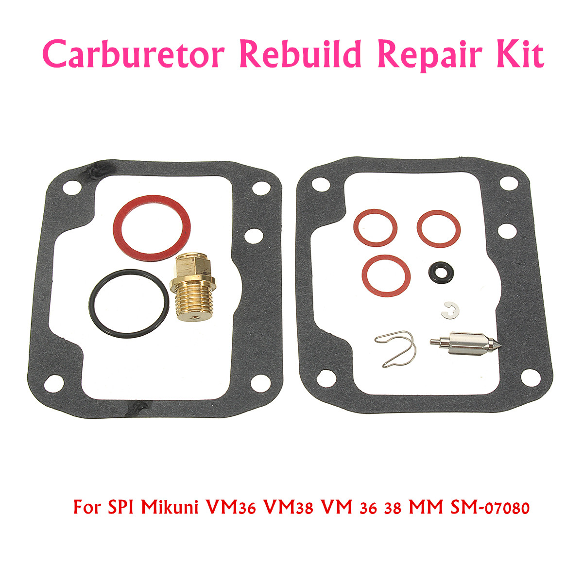 Carburetor Rebuild Repair Kit For SPI Mikuni VM36 VM38 VM 36 38 MM SM-07080