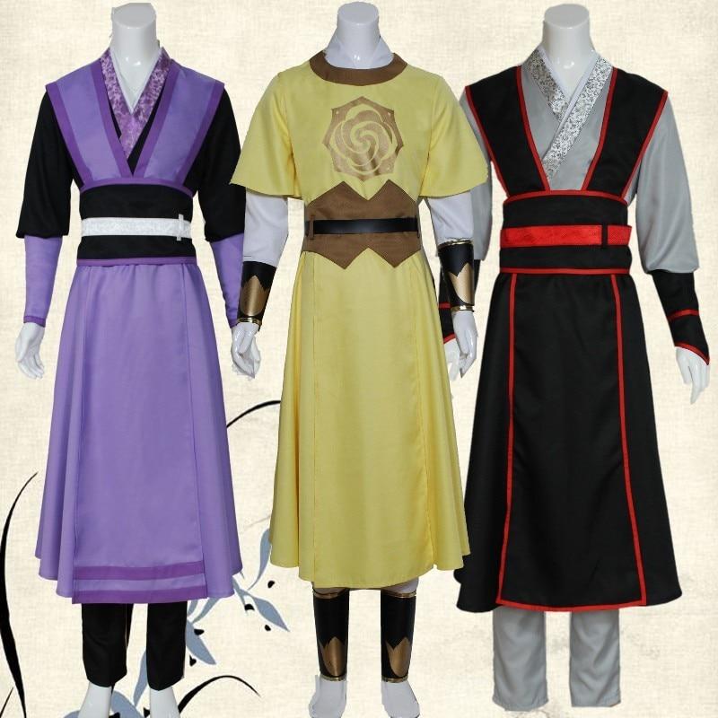 The Founder of Diabolism Wei wu Qian / Jin ling / Jiang Cheng/ A Qing costumes Chinese style halloween cosplay