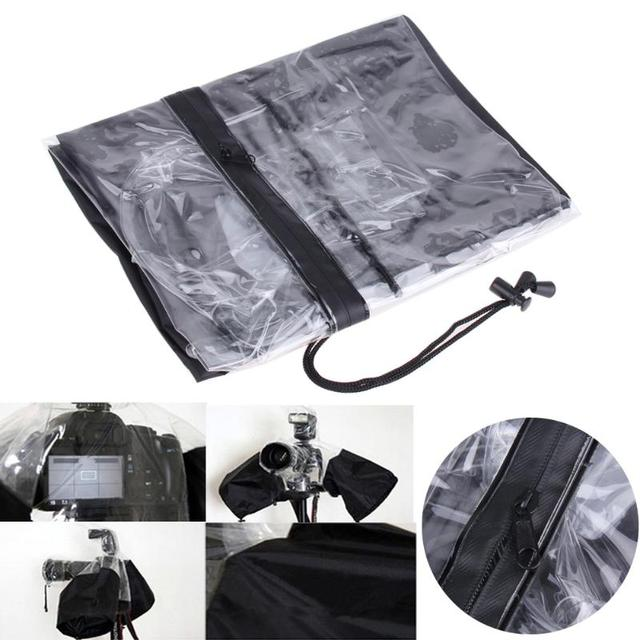 Professional Camera Rain Cover Raincoat Waterproof Dust Protector for Canon 5D3 70D 6D for Nikon D3000/ D3200/ D5100 for Pentax