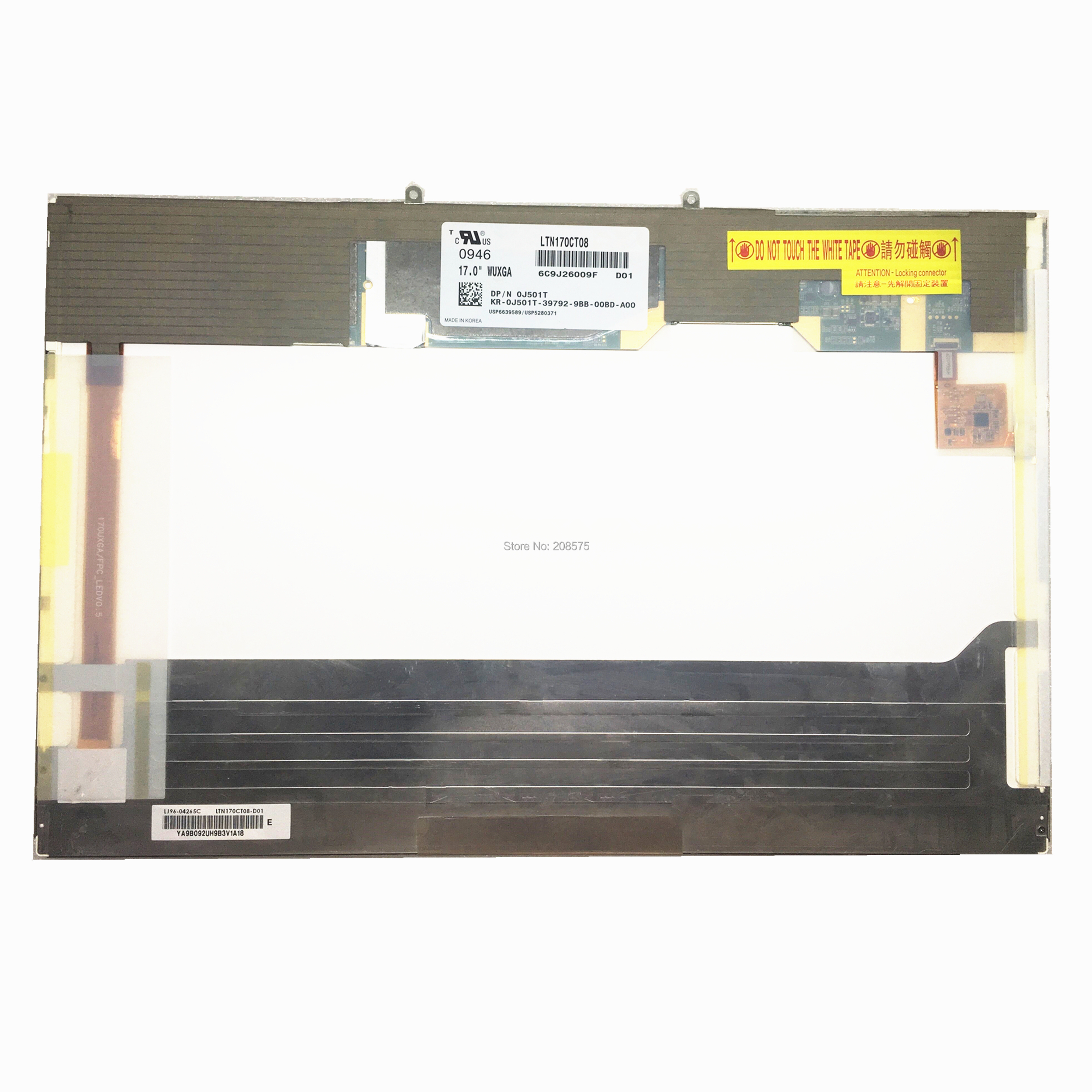 Free Shipping LTN170CT08 LTN170CT08-D01 fit for DELL Laptop Lcd Screen Panel 1920*1200 LVDS 40pinsFree Shipping LTN170CT08 LTN170CT08-D01 fit for DELL Laptop Lcd Screen Panel 1920*1200 LVDS 40pins
