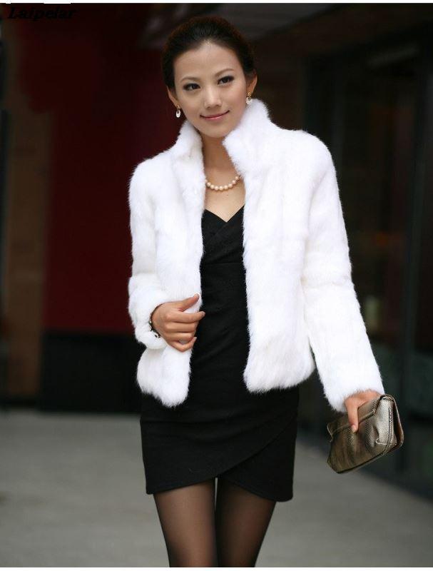 S-3XL Mink Coats Women 2020 Winter New Fashion FAUX Fur Coat Elegant Thick Warm Outerwear Fake Fur Jacket Chaquetas Mujer