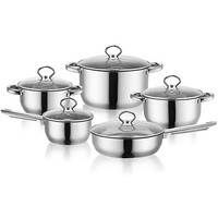 Creative and Personality Stainless Steel Pot Set cooking pot for kitchen pots a set of pans utensils for kitchen sale household