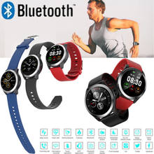 PPG+ECG Smart Watch Heart Rate Steps Blood Pressure Monitor Tracker with Camera Hot Watches(China)
