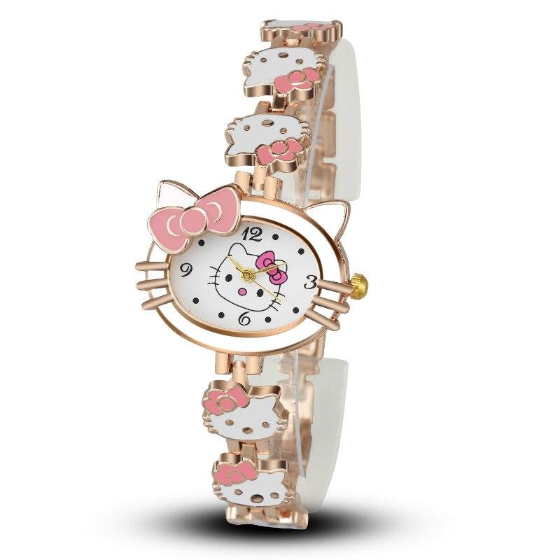Fashion Ideas  Hello Kitty Children Watch Bracelet Watch  Fashion Goes with Student WatchesFashion Ideas  Hello Kitty Children Watch Bracelet Watch  Fashion Goes with Student Watches