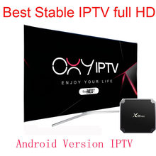 Oxy Neo tv Pro IPTV subscription smart tv French Morroco tunisia arabic iptv abonnement Mag250 1800 channels Android tv(China)