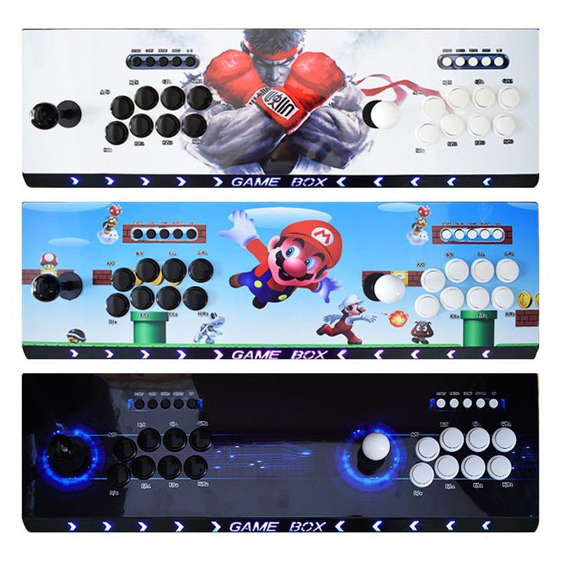 3D Game Machine Moonlight Treasure Box Double Home Console 2263 One Nostalgic Arcade Joystick