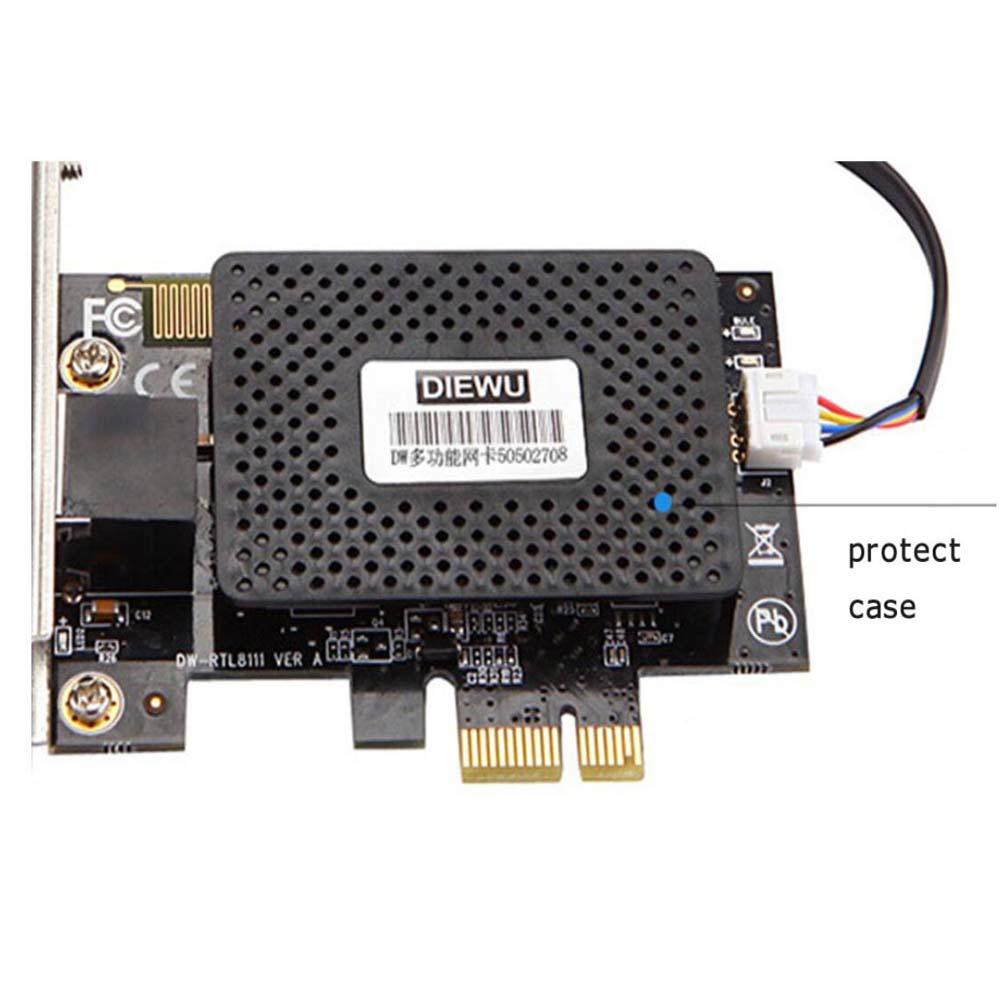Многофункциональный 10/100/1000 Мбит/с PCI E PCI Express компьютер ПК настольный выключатель питания вкл/выкл 2 в 1| |   | АлиЭкспресс