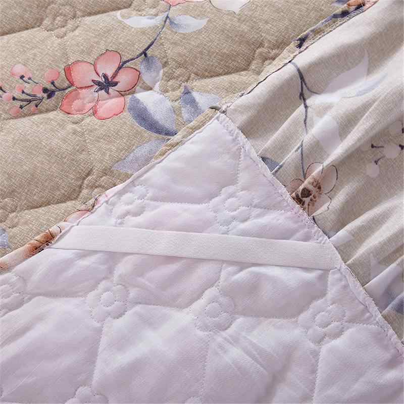 Funda Nordica One Piece.150 200cm Cotton Bed Cover Thickened Lace Bed Skirt Bed Spread Funda Nordica Cama 150 Fast Shipping