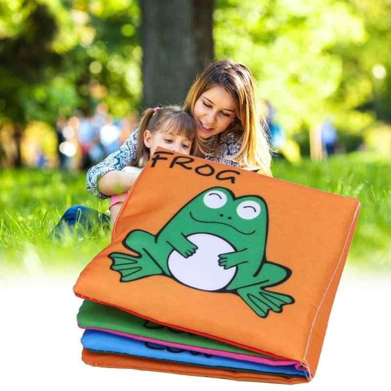 תינוק לשחק צעצוע רך ספרי בד רחש קול חינוכיים תינוק עגלת רעשן צעצוע עריסת תינוק מיטת תינוק התמונות צבעוניות