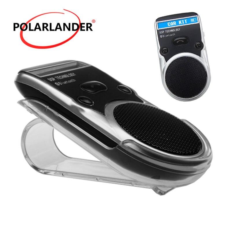 Récepteur AUX mains libres haut-parleur pour allume-cigare USB LCD affichage solaire adaptateur sans fil Bluetooth Kit voiture