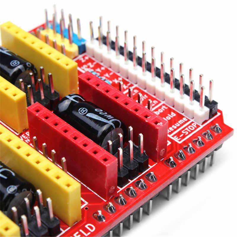DANIU 1 ピース新 Cnc シールド v3 彫刻機/3D プリンタ/A4988 ドライバ拡張ボード arduino のための最高の価格