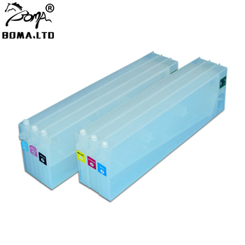 BOMA.LTD 440ML 6 Color With Auto Reset Chip Refill Ink Cartridge For Roland VS420 VS540 VS640 Printer Ink Cartridge
