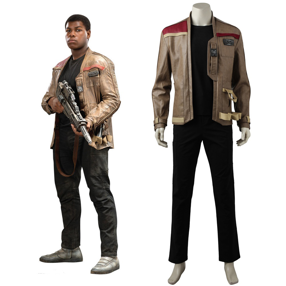 Star Wars VIII The Last Jedi Finn Cosplay Costume Custom Made
