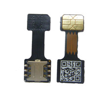 1Pcs Black Dual SIM Cards Adapter for An