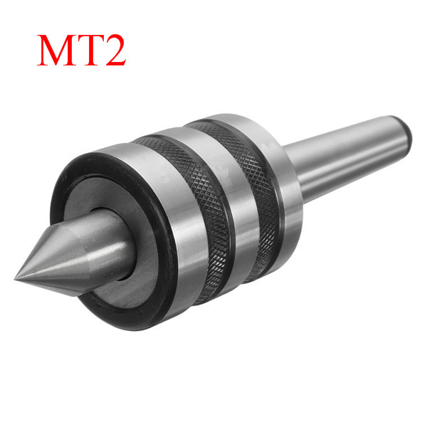 MT2 Precision Rotary Live Center Morse Taper MT2 Triple Bearing Lathe Medium Duty for High Speed Turning CNC WorkMT2 Precision Rotary Live Center Morse Taper MT2 Triple Bearing Lathe Medium Duty for High Speed Turning CNC Work