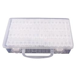 HOT-64 Lattices Adjustable Plastic Storage Box Storage Box Box For Jewelry Diamond Embroidery Craft Bead Pill Storage Tool