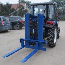 Китайский 3-х точечный вилочный погрузчик машина используется с трактором