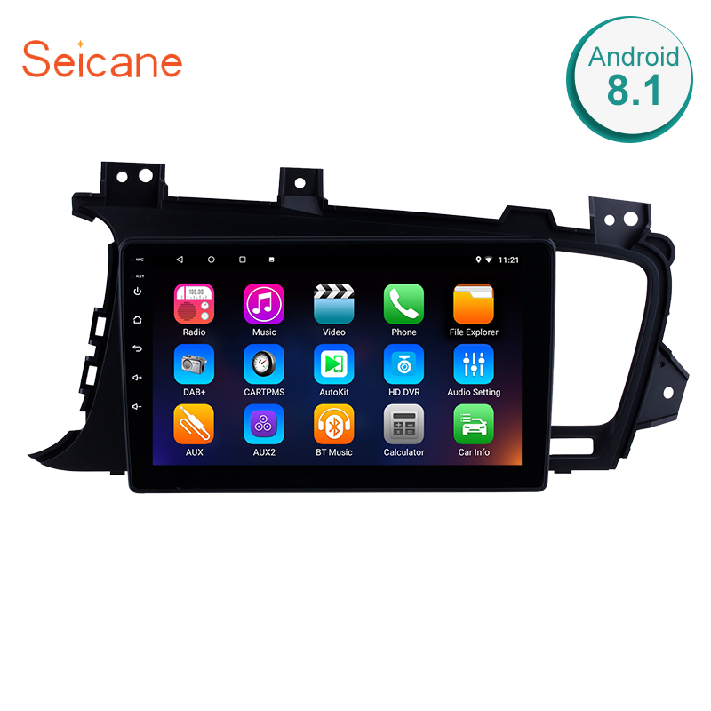 Seicane 2DIN 9 Inch Android 8.1 Car Radio Stereo GPS Navigation Head Unit For 2011 2012 2013 2014 Kia k5 LHD With 8 Core 16G ROM-in Car Multimedia Player from Automobiles & Motorcycles    1