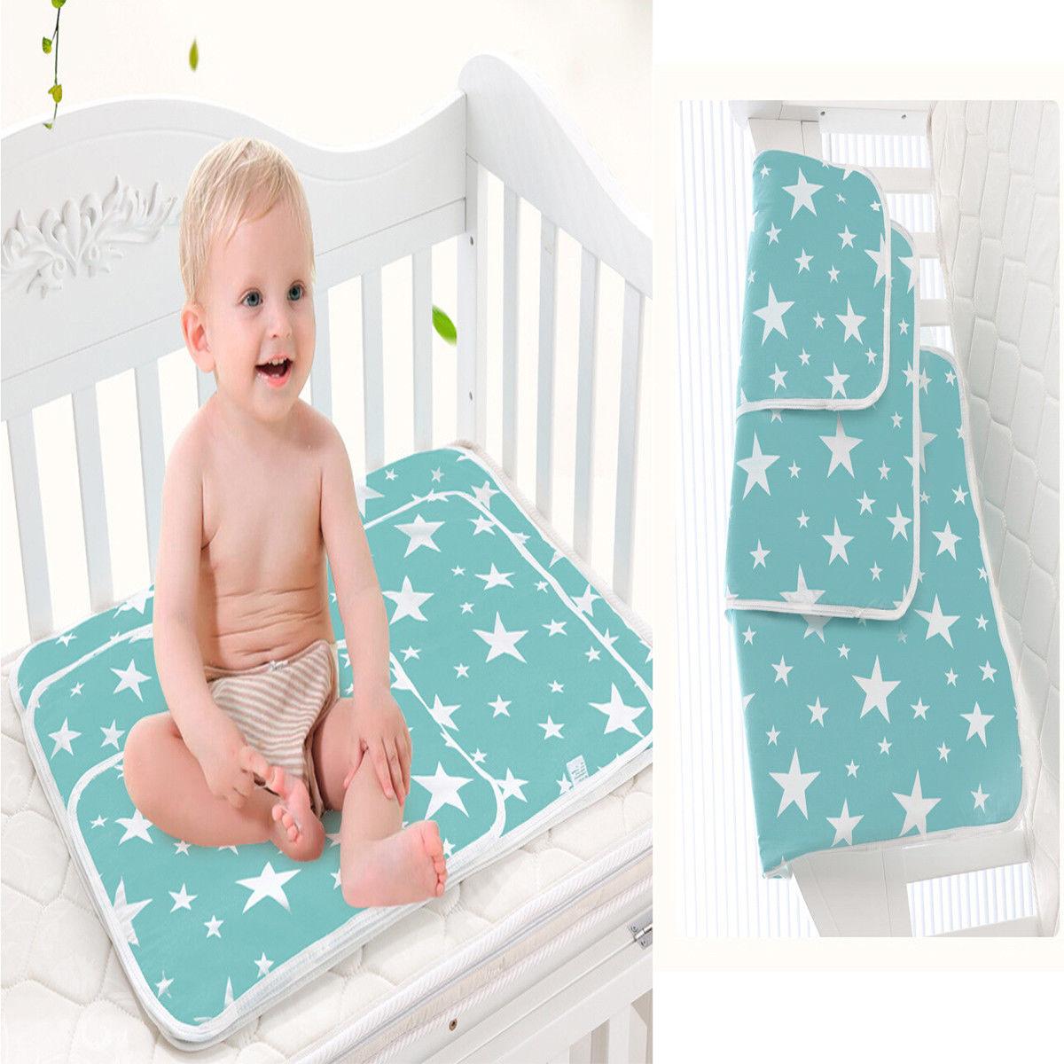 Washable Newborn Baby Mattress Breathable Supplies Waterproof Crib Sheet Urine Supply Mattresses