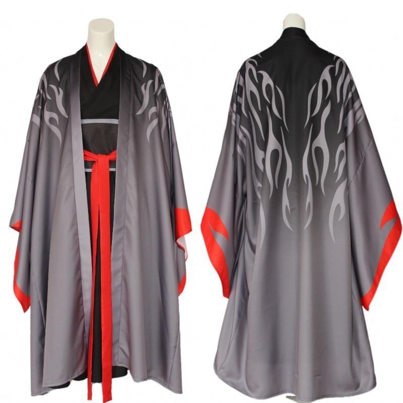 o Fundador do Diabolismo Yiling Ancestral Trajes zu Shi Estilo Chinês Halloween Cosplay mo Dao
