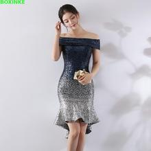 2019 Real Vestidos Mujer Europe And The Wrapped In Chest, A Gradual Change Of Beads, Hip Sexy Dress, Dinner Night Dress Sequins