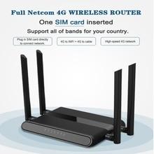 Yönlendirici Wi Fi 300 mbps Gigabit GSM LTE yönlendirici 4 portlu kablosuz LEDE yönlendirici 4g lte lan 4G LTE yönlendirici yüksek seviye PPTP, l2TP