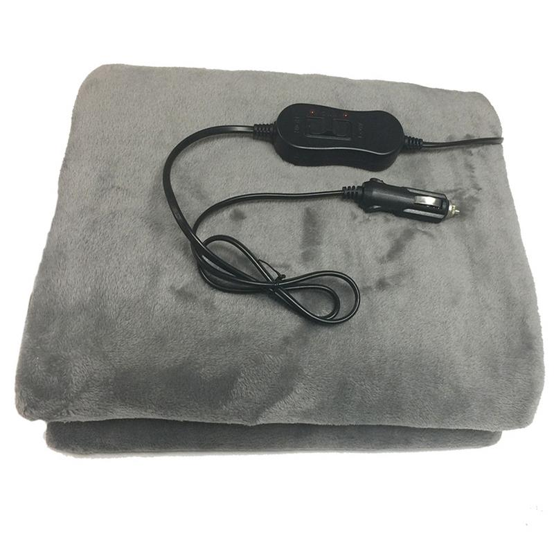 Car Travel Bed Booruit 88*65cm Lattice Energy Saving Warm 5v Car Heating Blanket Autumn And Winter Electric Blanket Car Accessories Automobiles & Motorcycles