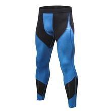 Спортивные штаны для мужчин фитнеса бега тренировочные леггинсы