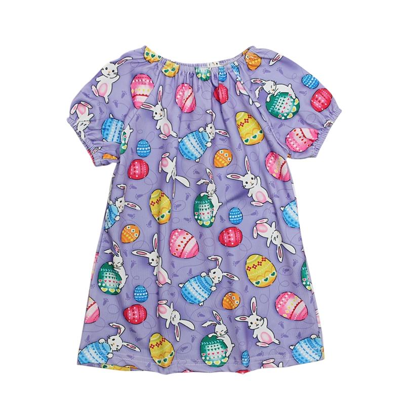 2019 toddler kids baby girl dress summer clothes easter