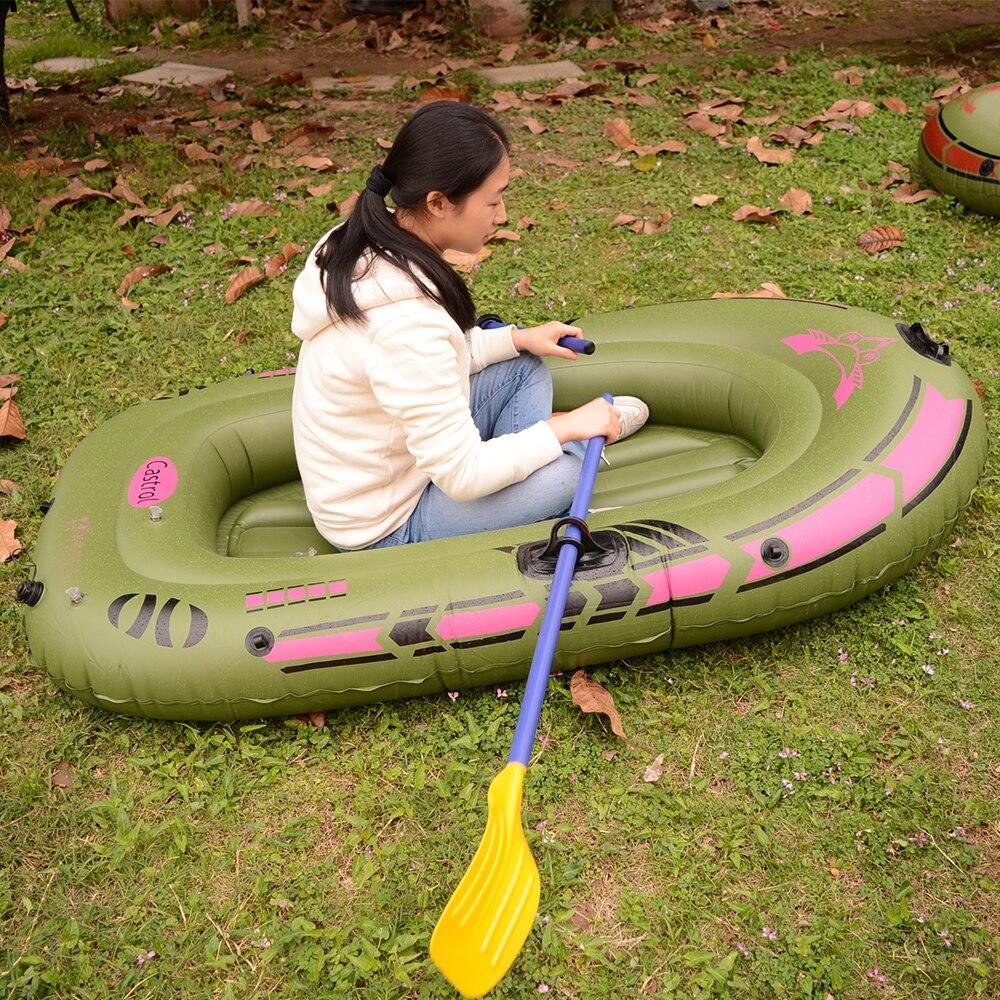 Bateau de pêche en caoutchouc de PVC de bateau gonflable de haute résistance avec le Kit de Patching de pompe de pagaies pour le bateau adulte de ski nautique de dérive d'enfants - 4