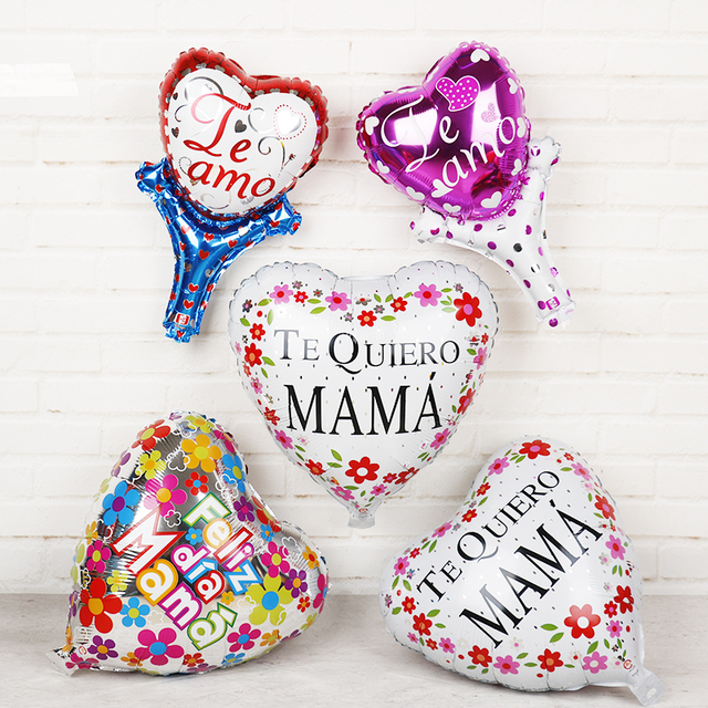 heart Spanish Te amo mama  Mother Days Gifts