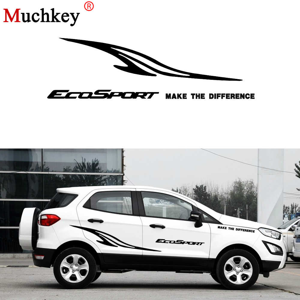 Detail feedback questions about auto part car styling for ford ecosport car side body decal sticker truck decals diy decoration car sticker accessories