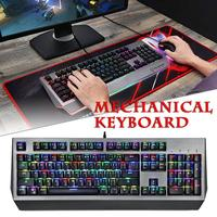 2018 New MOTOSPEED Mechanical Keyboard CK99 Alien Cherry Red Axis RGB Backlight Full Key 11.11
