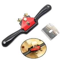 1 PC Adjustable Hand Planes Flat Base Metal Blade Wood Craft Hand Tool For Chair Leg Arrows(China)