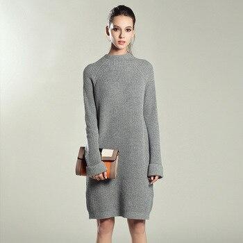 ae44950d5 Suéter de maternidad Vestido de las mujeres ropa de Otoño de 2018 de manga  larga de invierno de embarazo vestidos túnica Grossesse Vestido Embarazada