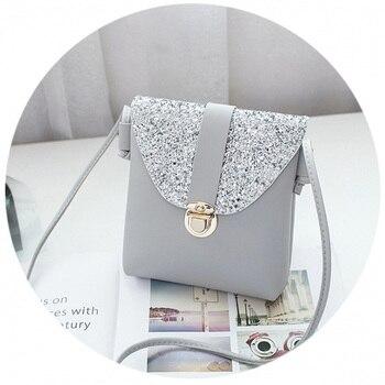 2d0654122ad2 Vsen/женские небольшой bling сумка женская мини-юбка для девочек сплошной  цвет ...