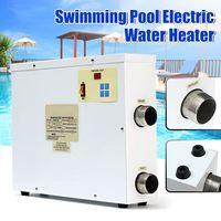 220 В Электрический нагреватель воды 9000 Вт цифровой термостат бассейн & SPA джакузи бассейн 9KW нагрева оборудования для зимнего плавания