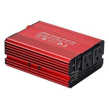 300W Car Power Inverter DC12V to AC110V/220V Power Inverter Voltage Convertor  Transformer EU US JA Plug Car Styling