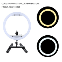 Makeup Mirror light 14 LED Ring Lamp Fill Light with Cosmetic Mirror Photography Selfie Light for Camera Studio Video Live