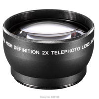 JINTU 72mm 2X HD Telephoto Tele Convert Lens for Canon Nikon Sony Pentax 77mm front siez lens/DSLR Camera