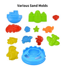 25Pcs Beach Sand Toys Set Watering Molds Beach Tool Kit Sand Water Wheel Bucket Shovels Rakes Sandbox Toys Kids(China)