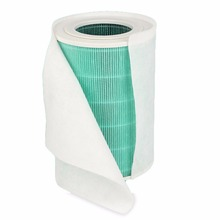 EAS-6Pcs 68X30Cm Electrostatic Cotton For Xiaomi Mi Air Purifier Pro / 1 / 2 Universal Brand Air Purifier Filter Hepa Filter Q все цены