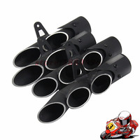 Universal Modified Motorcycle Exhaust Muffler Pipe For YAMAHA R1 R6 R15 FZ1 MT09 TOCE Slip On Racing Escape Moto Silencer YA013