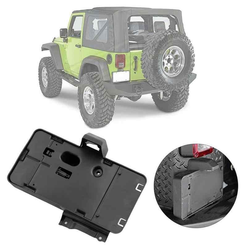 Amerikaanse Auto Achter Kenteken Bracket Houder Met Licht Voor Jeep Wrangler